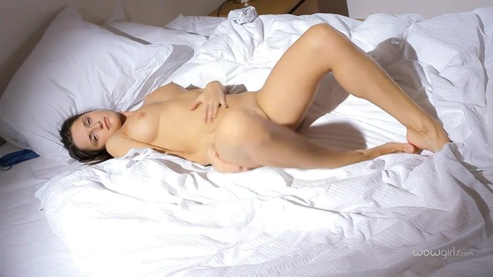 Erotische striptease en sensuele masturbatie