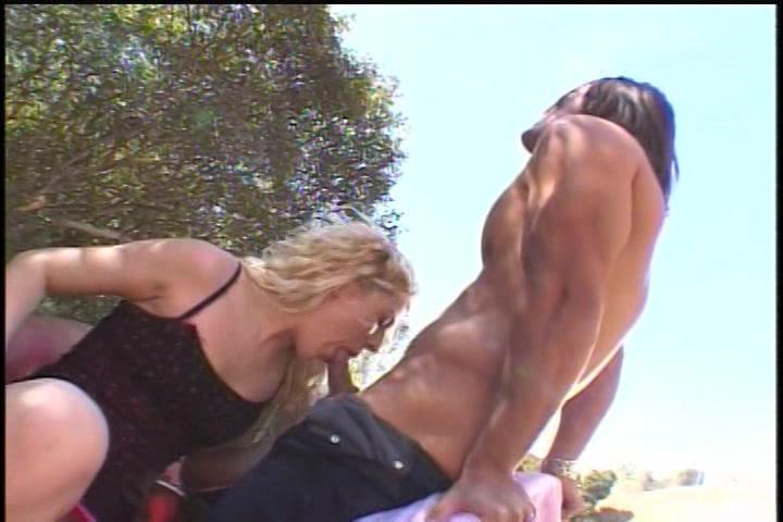 hitsige sex in het zonnetje
