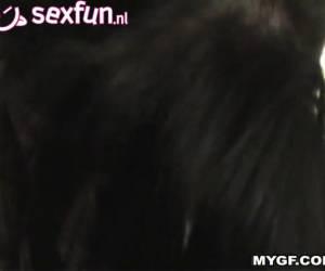 Gonzo amateur sexfilm van zijn sexy vriendin.