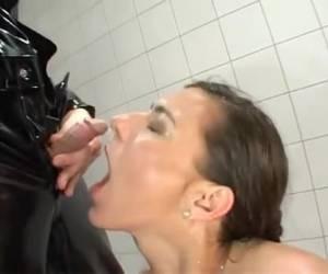 Kinky koppel bedrijft plassex